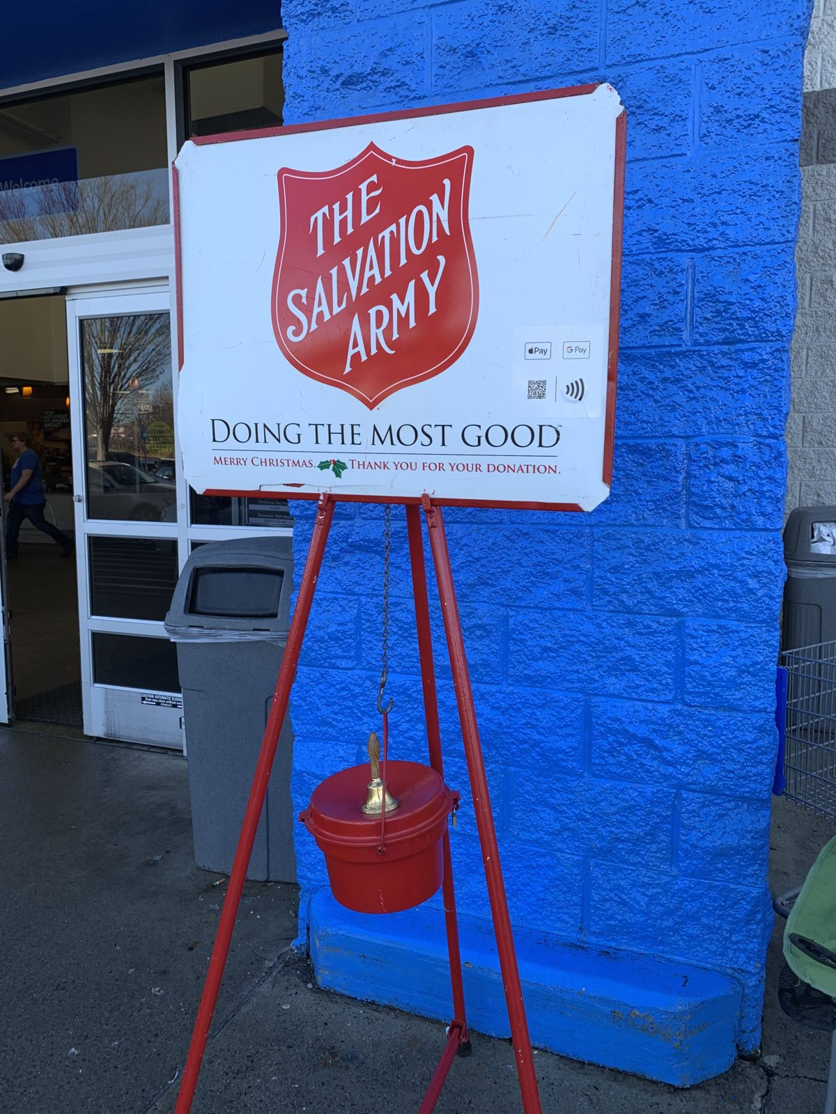 The Day I Rang The Salvation Army Bell Each One Reach One